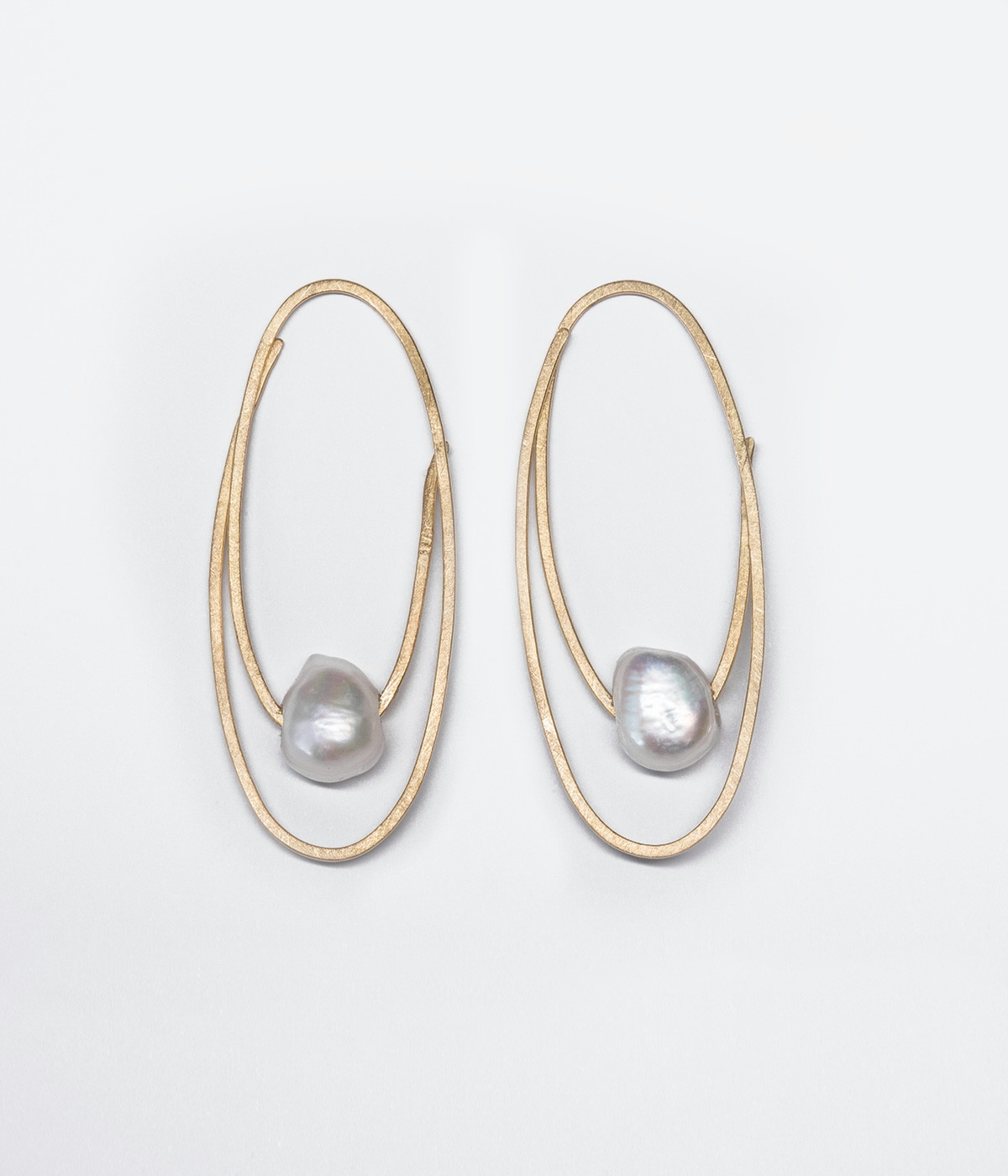 Pendientes Oval of love