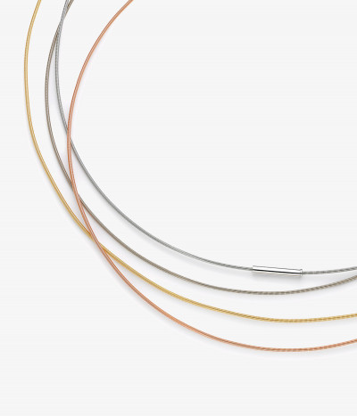 Cordón oro 42cm