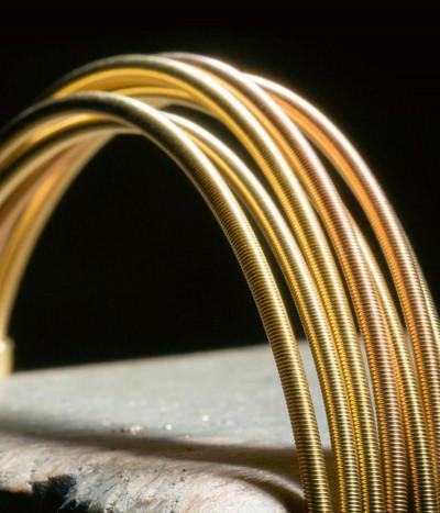 Cordón oro 45cm