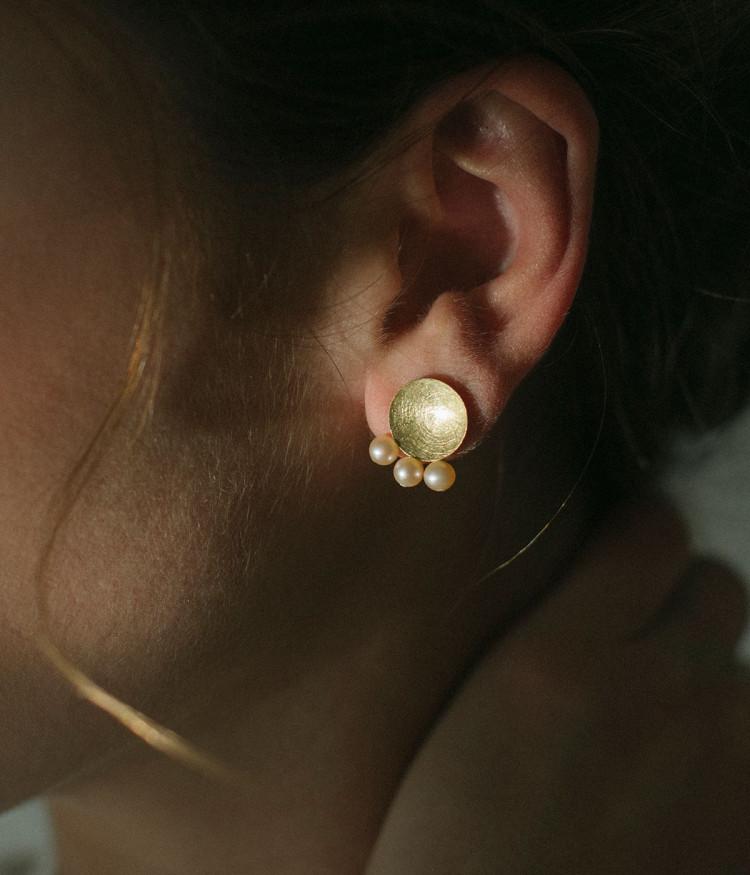 Love of the Three earrrings