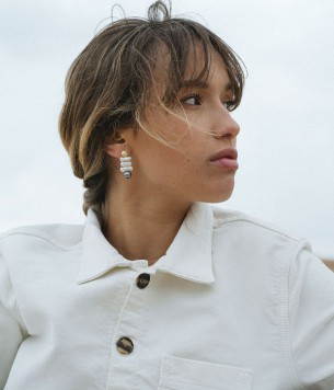 Amazonite Tahití earrings