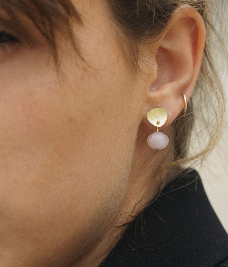 Supple Pink earrings