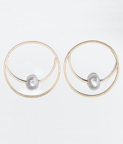 Pendientes Circle of love