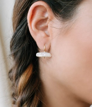 Fresh water earrings
