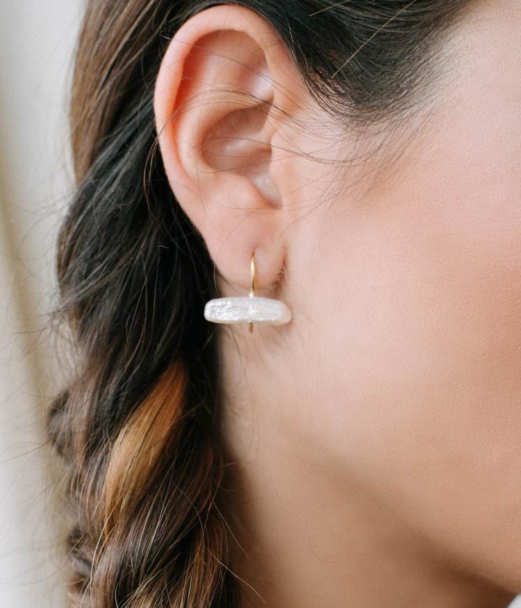 Fresh water earrings