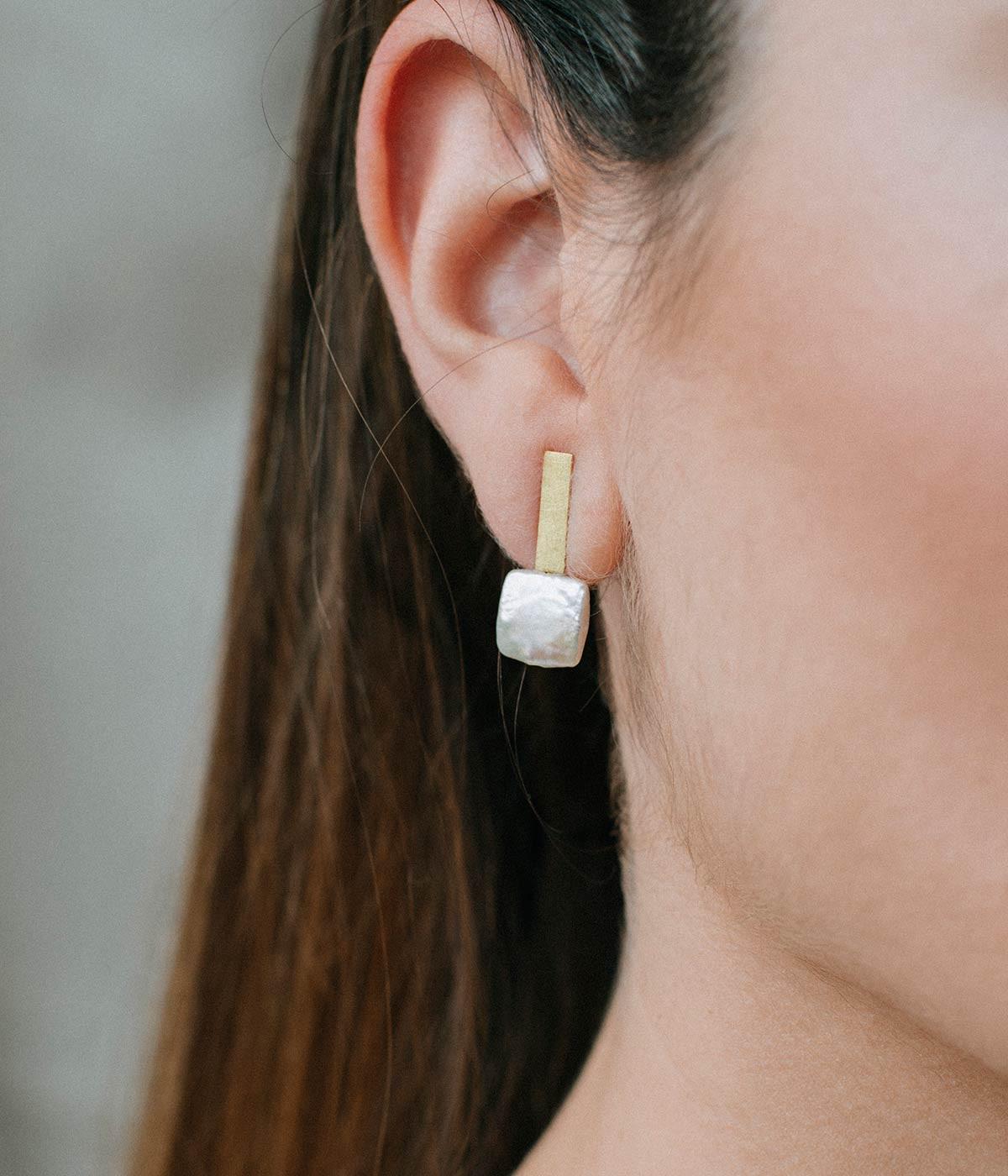 Love story earrings